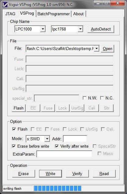 "Uniwersalny programator / debugger (JTAG/SWD)  ""Versaloon"""