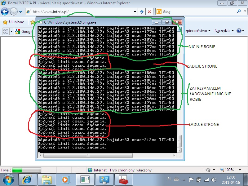 Aspire 7741G | Karta sieciowa Atheros AR928X | Up�yn� limit czasu ��dania
