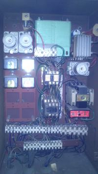 Schemat sterowania d�wigu towarowego ZREMB 50975