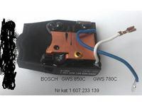 bosch GWS 850 CE uszkodzony regulator obrot�w