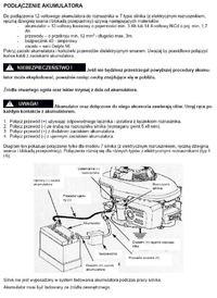 Montaż rozrusznika el. do kosiarki z silnikiem Honda GCV 190.