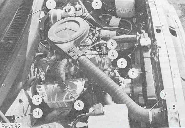 FSO Polonez 1.6GLI + LPG brak rurki ciep�ego powietrza.