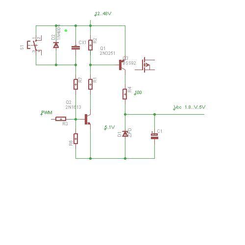 Stabilizacja napiecia zasilania procesora z pomoca procesora