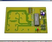 Eagle 3D. Wizualizacja przestrzenna p�ytek PCB.