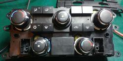 Dodge Grand Caravan 2008 - Wymiana zarowek podswietlenia sterowania nawiewu