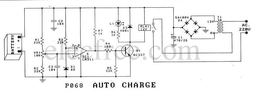 Prostownik- P068 Auto Charge