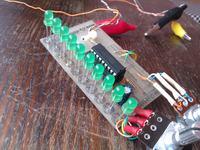 Tester sondy lambda na LM3914N