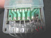 Uszkodzony sterownik programator lampki choinkowe led