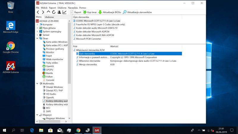 Laptop Manta MLA141B - Brak dźwięku