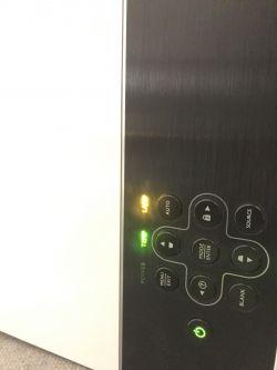 Projektor BENQ W600 nie świeci -