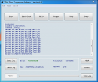 Programator RT809H programowanie ukladu K9GAG08U0E-SCB0