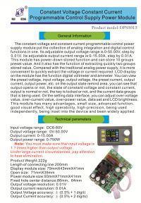 Zasilacz regulowany 0-50V 0-15A