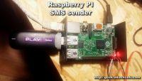 SMS gateway with web interface on Raspberry Pi