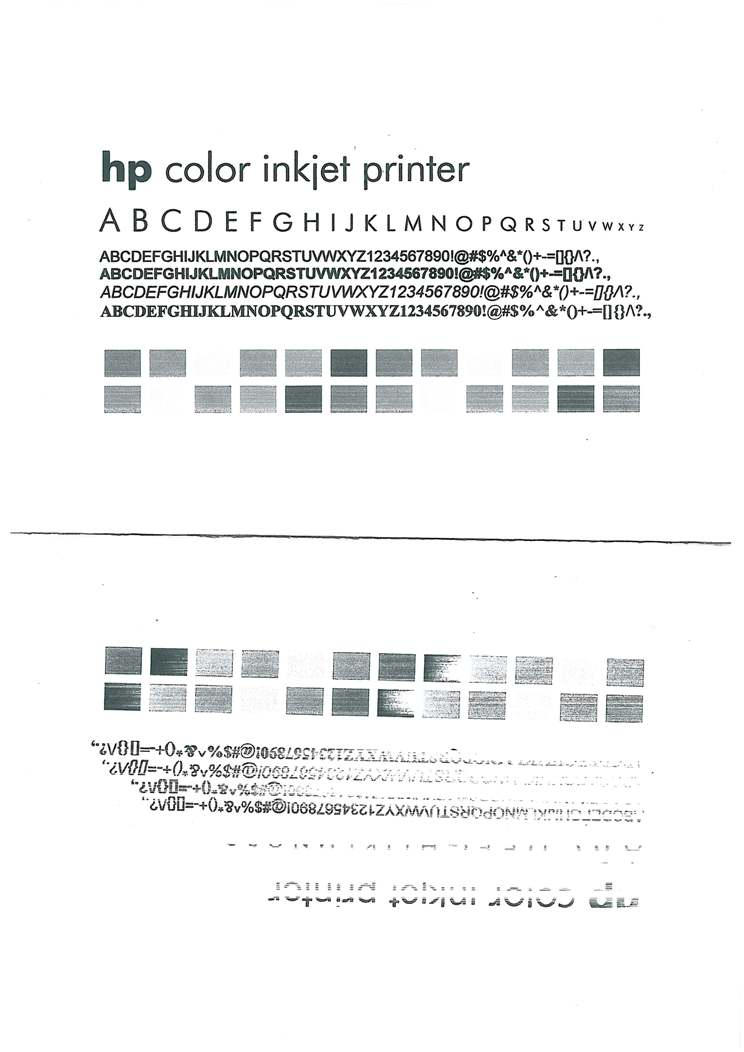 HP Officejet Pro L7580 - zanik czarnego tuszu przy drukowaniu