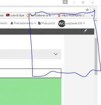 Przeglądarka Chrome blokuje wyskakujące okienka itd