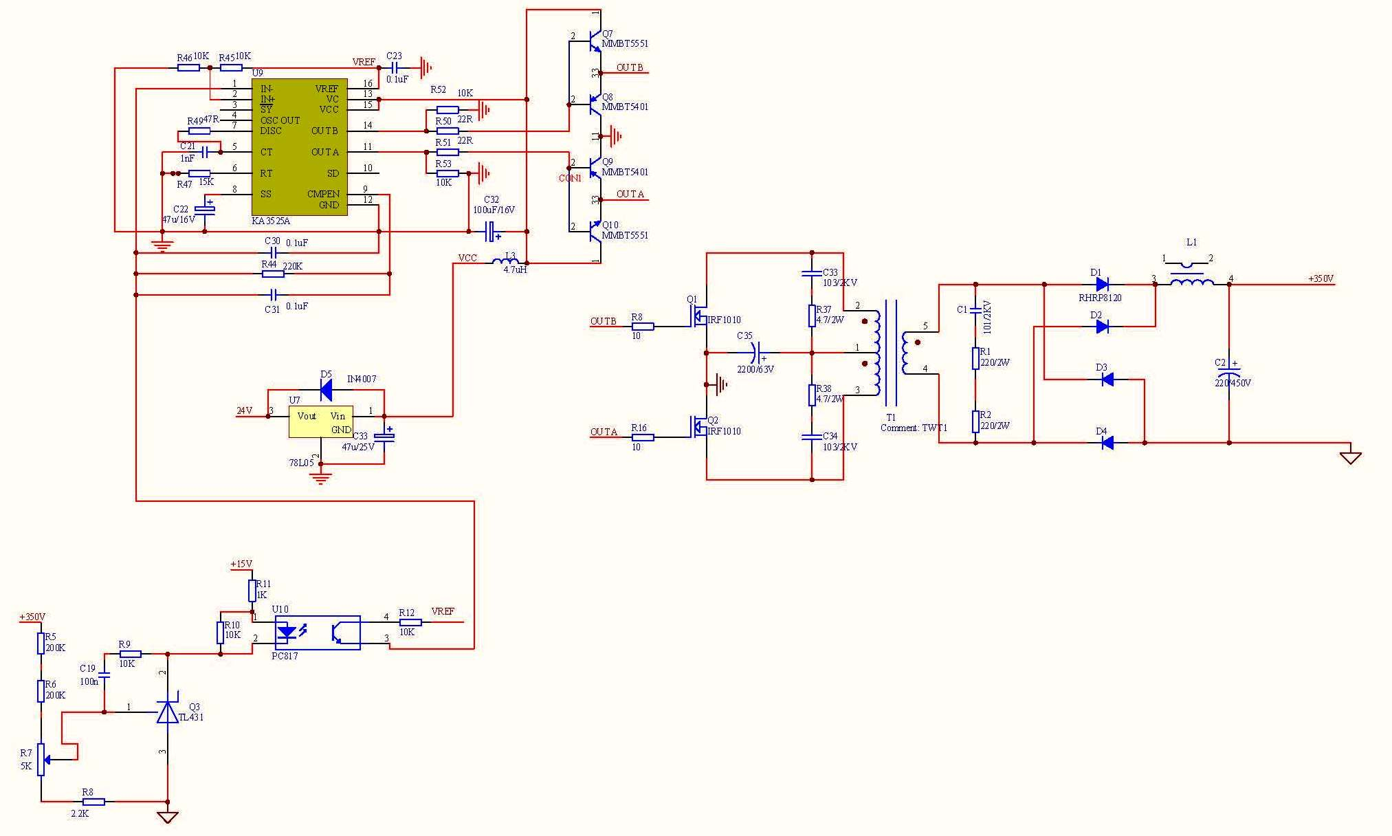 Problem Inverter Dc 12vdc To 320vdc On Images For Using Sg3524 Circuit Diagram Image Hello In Case Of Driver The Bd139 And Bd140 Fets I Envir An