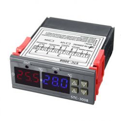Termoregulator do sterowania grzałką na LUMEL NT9
