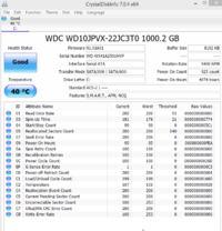 WDC WD10JPVX - Ciągle dysk zajmuje 100% w menadżerze zadań, system wolno chodzi