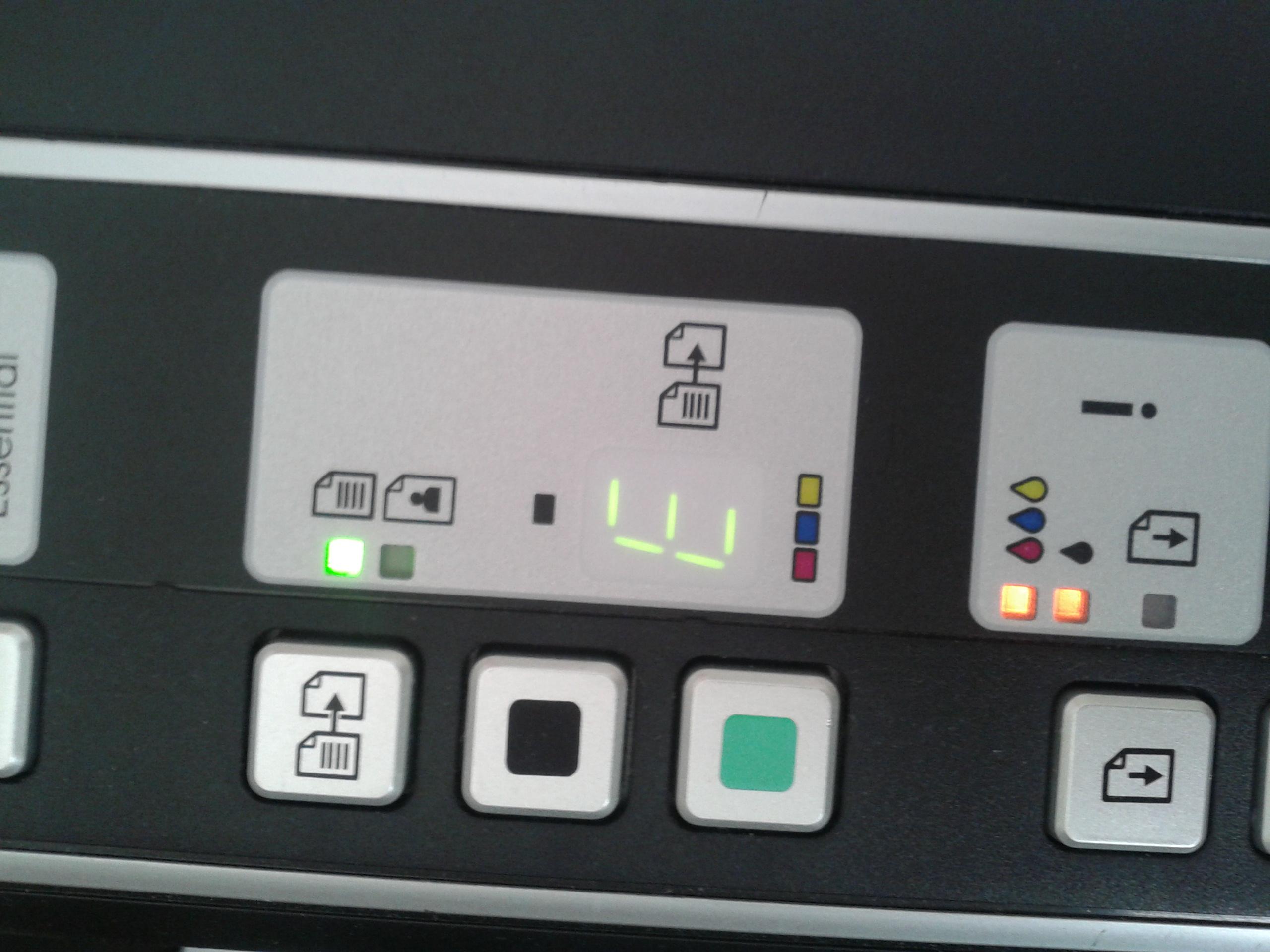 Drukarka HP Deskjet F4180 nie kseruje.