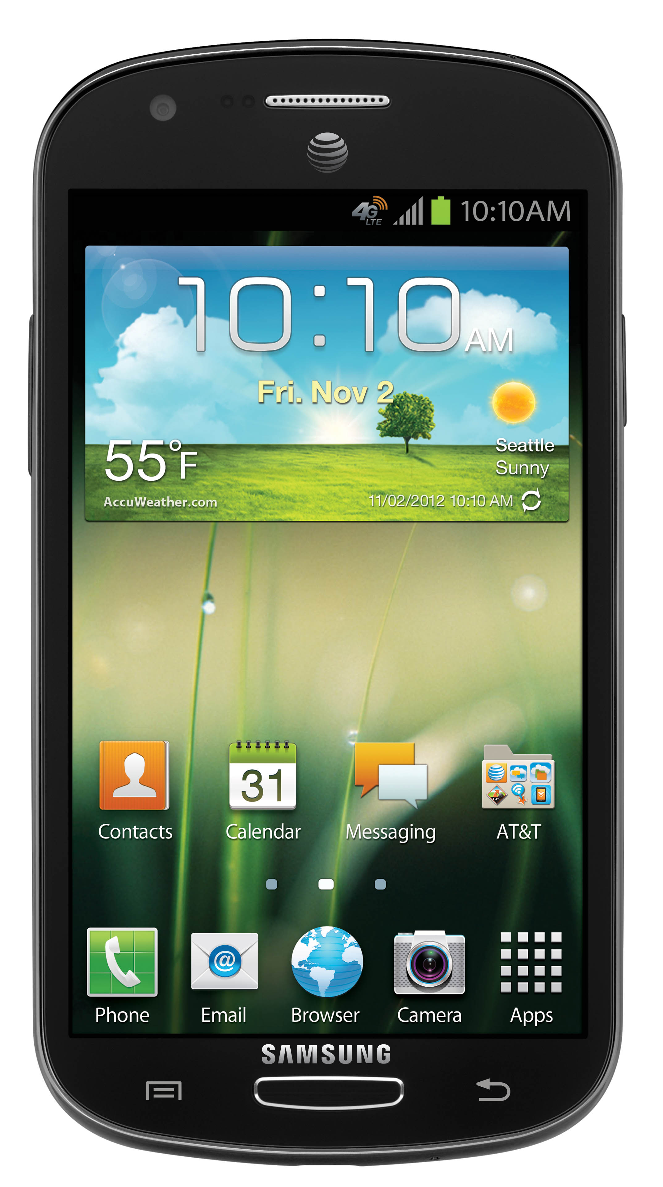 "Samsung Galaxy Express - smartphone z 4,5"" ekranem, Android 4.0 i LTE"