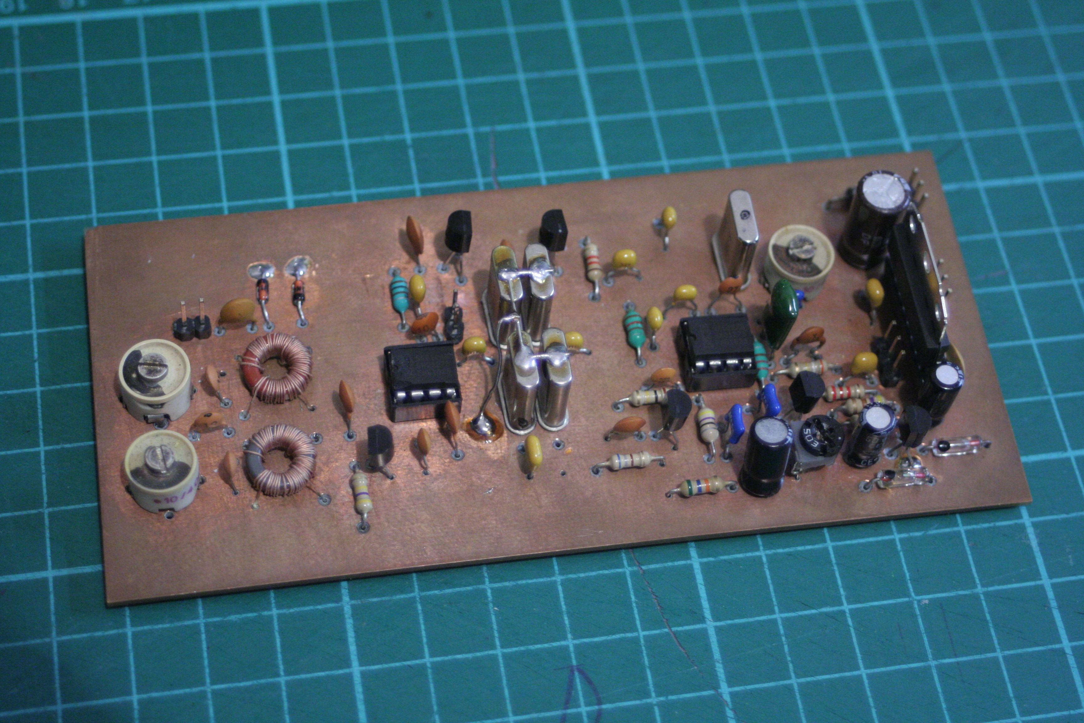 Kr�tkofalarski odbiornik nas�uchowy SSB (LSB) 3.5 MHz