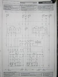 VW Golf 4 TDi - nie działa ogrzewanie lusterek