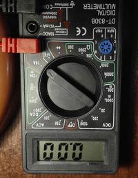 Einhell BT-RH 1500 - przygasa światło po włączeniu urządzenia
