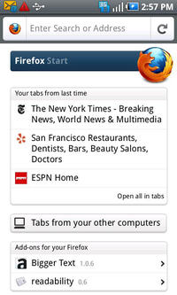 Już jest Firefox 4 dla systemu Android