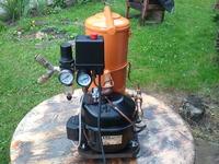 Kompresorek do malowania ze sprężarką z lodówki 2