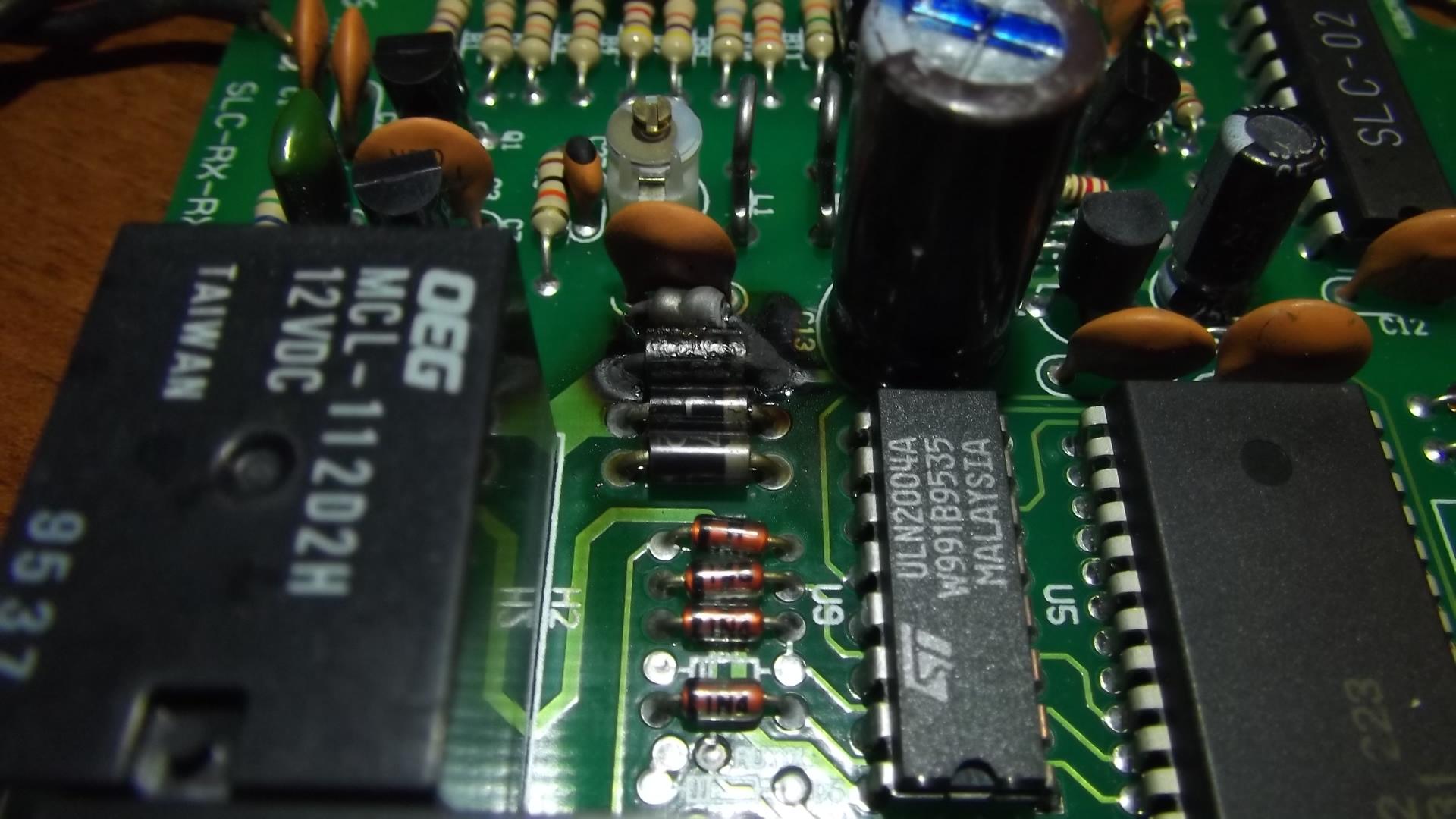 Silicon RX - Autoalarm - upalone elementy - czy dobrze identyfikuj�?