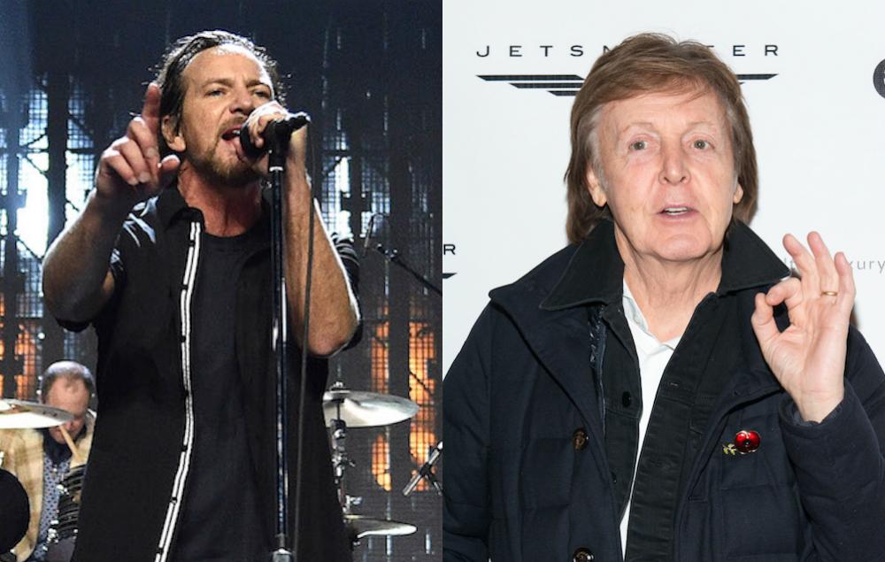 The Beatles Polska: Eddie Vedder: Paul McCartney uderzył mnie w twarz