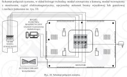 Wideodomofon NEPTUN firmy EURA - podłączenie wg schematu 2 urządzeń