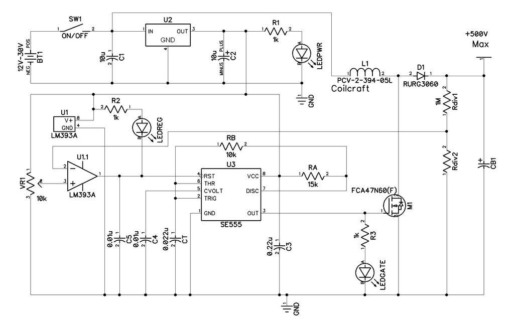 Przetwornica 60V > +350V -150V - jaka stabilizacja?