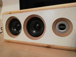 """Soundbar """"Jamnik"""" na TDA2030A Amp mb 2.1 Bluetooth"""