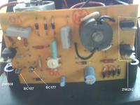 Elektryzator EBS 872/M, niskie napięcie na wyjściu