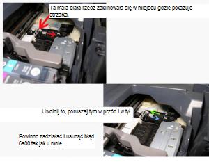 ip4300 błąd 6A00