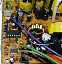 Gembirt model: 350W kondensatory w tym jeden wybuchł i spalony opornik...
