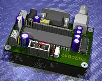 Eagle3D. Zbiór zaprojektowanych płytek PCB.