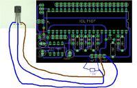 Termometr na icl7107 z wykorzystaniem lm35