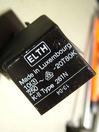 Szukam dane Termostatu lub zamiennik ELTH 261N -20T80K