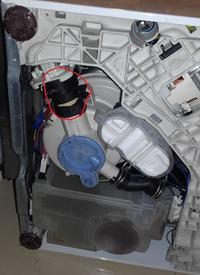 Zmywarka Electrolux ESL46010 - błąd i30 - wymiana węża