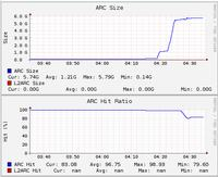 FreeNAS i system ZFS - log device, cache device.