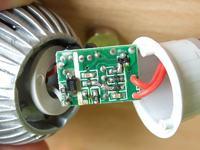 Żarówka LED 3x1W - padła elektronika
