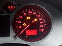 Seat ibiza 05r 74kw - Bezpiecznik kontrolka brak średniej spalania