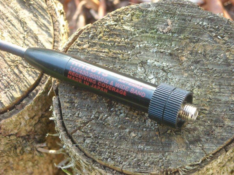 RH901S - ko�c�wka antenki / p�kni�ty gwint.