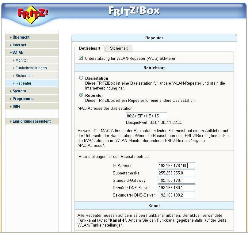 Fritz Box sl wlan jak AP jak to ogarn��.