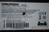 Grundig GU32HD - Brak reakcji na klawisze funkcyjne i pilota