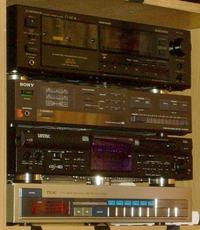 [Sprzedam] Magnetofon Pioneer CT-449, Wzmacniacz SONY TA-AX2020, Tuner TEAC-T717