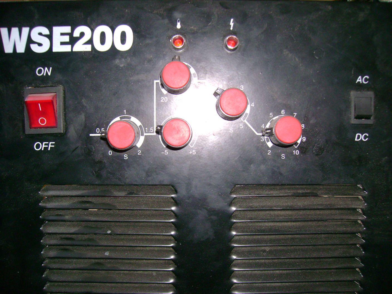 WSE200 - brak mo�liwo�ci spawania aluminium