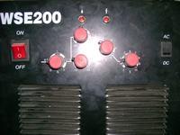 WSE200 - brak możliwości spawania aluminium